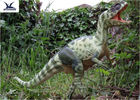 Moving Realistic Dinosaur Model With Speaker For Dinosaur World Museum Display