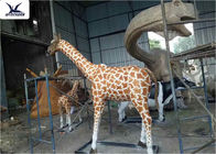 Zoo Park Playground Decorative Large Outdoor Fiberglass Statues Waterproof Animal Shape
